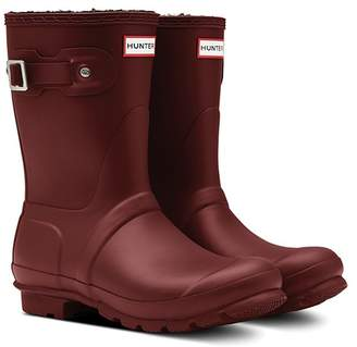 Hunter Short Insulated Wellington Waterproof Rain Boot