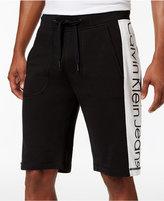 Calvin Klein Jeans Men's Colorblocked Graphic-Print Logo Cotton Shorts