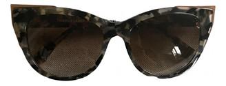 Thierry Lasry Khaki Plastic Sunglasses