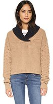 See by Chloe Women's Shawl Neck Sweater
