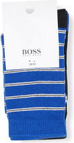 BOSS Cotton-blend socks 2 pack 5-10 years