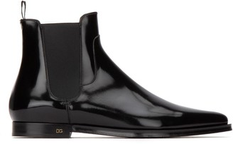 Dolce & Gabbana Pointed-Toe Chelsea Boots