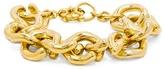 BaubleBar Gold Mary Links Bracelet