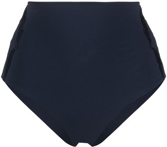 La Perla High-Waisted Bikini Bottoms