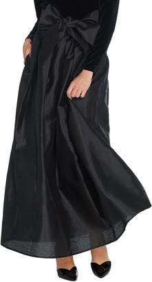 Joan Rivers Classics Collection Joan Rivers Petite Length Faux Dupioni Maxi Skirt