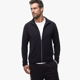 James Perse Technical Jersey Zip-Up Jacket