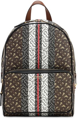 Burberry MONOGRAM & CANVAS BACKPACK