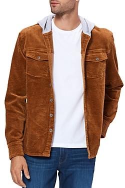 Paige Carlton Regular Fit Cord Shirt Jacket