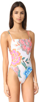 Mara Hoffman High Leg Tank One Piece