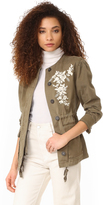 Rebecca Taylor Embroidered Jacket