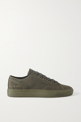 Common Projects Achilles Canvas Sneakers - Army green