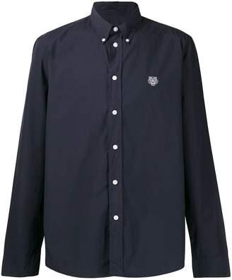 Kenzo logo slim-fit shirt