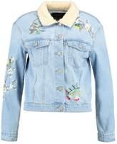 Only ONLCAROLINE MEGA Denim jacket light blue denim