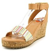 Rocket Dog Women's Edda Lucia Fabric-Rio Pu Wedge Sandal