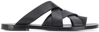 Jil Sander Toe-Loop Strappy Sandals
