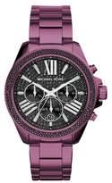Michael Kors Women's Wren Pave Chronograph Bracelet Watch, 41.5Mm