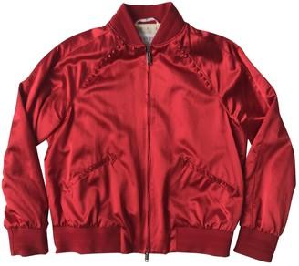 Valentino Red Viscose Coats