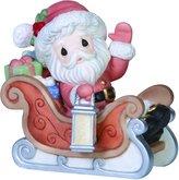 Precious Moments 151020 Santa's on His Way! Figurine