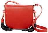 Badgley Mischka Bailey Leather Saddle Bag