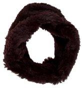 Adrienne Landau Infinity Fur Scarf w/ Tags