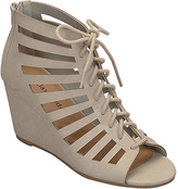 City Classified Taupe Kervan Wedge Sandal