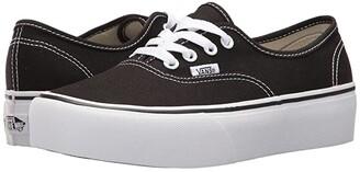 Vans Authentic Platform 2.0 (Black) Skate Shoes