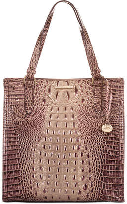 Brahmin Melbourne Embossed Leather Large Caroline Tote