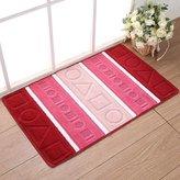 nikstoreinus Water absorption mat door mat carpet Bath mat kitchen MATS home decoration