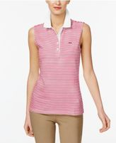 Lacoste Cotton Striped Polo Shirt