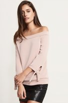 Dynamite Soft Off-The-Shoulder Top With Ties