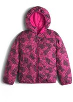 The North Face 'Perrito' Reversible Water Repellent Hooded Jacket (Big Girls)
