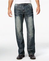INC International Concepts Men's Relaxed-Fit Dark Wash Jeans, Only at Macy's