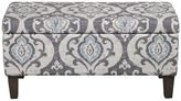 HomePop Damask Storage Ottoman