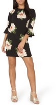 Dorothy Perkins Women's Flute Sleeve Shift Dress