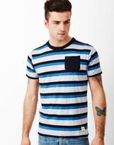 Bellfield Crosby Stripey Pocket T-Shirt