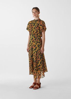Daisy Print Stine Dress