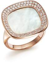 Roberto Coin 18K Rose Gold Carnaby Street Diamond and Mother-Of-Pearl Ring