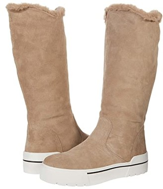 J/Slides Norie Waterproof (Taupe Suede) Women's Shoes