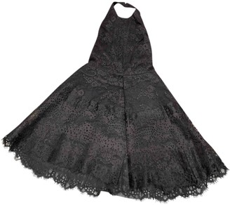 Elie Saab Black Lace Dress for Women
