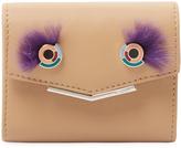 Fendi Women's Leather & Mink Fur Short Wallet