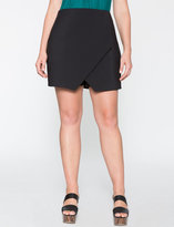 ELOQUII Plus Size Wrap Front Mini Skort