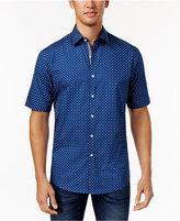Club Room Men's Dot Print Shirt, Only at Macy's