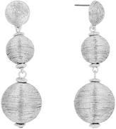 BaubleBar 30236 Metallic Crispin Drop-Metallic Silver