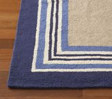 Tailored Striped Rug