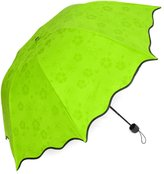 KF Umbrella kilofly Anti-UV Folding Parasol Secret Blossom Water Magic Umbrella, UPF 40+