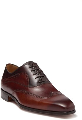Magnanni Ezell Leather Wingtip Oxford