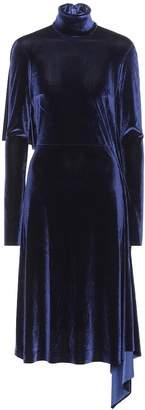 Vetements Velvet dress