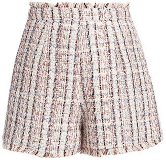 Cinq à Sept Coronado Boucle Tweed Shorts
