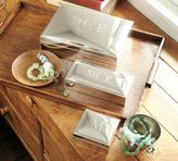 Pottery Barn Engravable Silver-Plated Jewelry Boxes