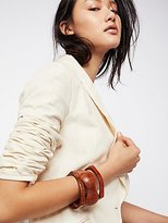 Wooden Bangle Set by La Casa at Free People